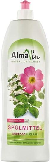 BIO detergent za ročno pomivanje posode vrtnica melisa Alma 1l