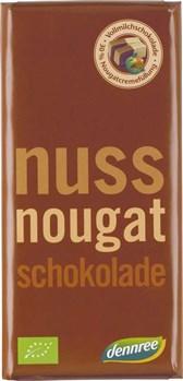 BIO čokolada z nugat kremo DEN 100g