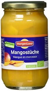 BIO kompot MorgenLand mango 350g