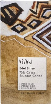 BIO temna čokolada Vivani 70% 100g