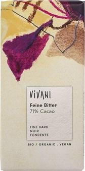 BIO fina grenka čokolada Vivani 71% kakava 100g