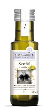 BIO gorčično olje Bio Planete 100 ml