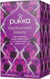 BIO čaj temnih plodov črni ribez Pukka 20 vrečk 38g