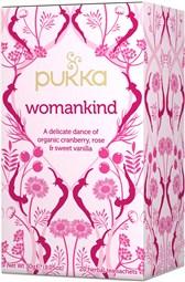 BIO čaj Womankind za žensko ravnovesje Pukka 20 vrečk