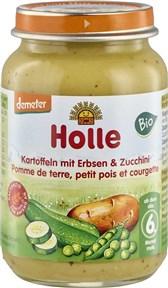 BIO kašica krompir z grahom in bučkami Holle 190g