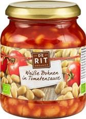 BIO beli fižol v paradižnikovi omaki De Rit 360g