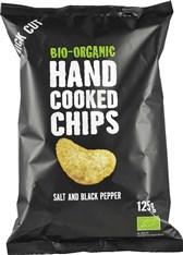 BIO čips s soljo in poprom Trafo 125g