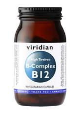 Kapsule B-kompleks + B12 Viridian 90 kapsul