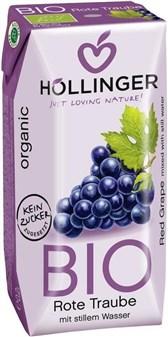 BIO sok rdečega grozdja Höllinger 200ml