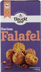 BIO mešanica za falafel Harissa paprika in čili Bauckhof 160 g