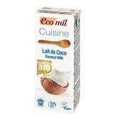 BIO kokosovo mleko za kuhanje Ecomil 200ml