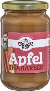 BIO pire jabolko rabarbara s jabolčnim sokom Bauck Hof 360g