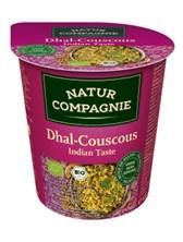 Kuskus z lečo in indijskimi začimbami Natur Compagnie 68 g