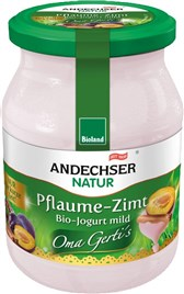 Jogurt sadni sliva-cimet, Andechser 500 g