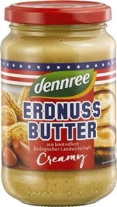 BIO arašidov namaz Creamy dennree 350g