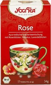 BIO čaj vrtnica Yogi Tea 17x2g
