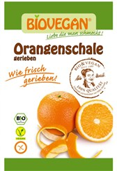 Nastrgana pomarančna lupinica Biovegan 9 g