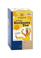 BIO čaj mešanica kurkuma ingver kardamom Sonnentor 18x2g