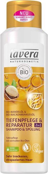 Šampon za nego las 2v1 lavera 250 ml