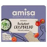 BIO krekerji ajdini hrustljavi brez glutena Amisa 120g