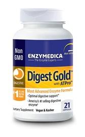 Prebavni encimi Digest Gold Enzymedica 21 kapsul