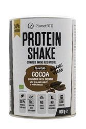 Rastlinska beljakovinska mešanica čokolada PlanetBIO 600 g