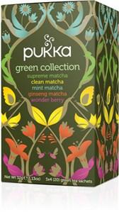 BIO mešanica zelenih čajev Pukka 20x1,8g