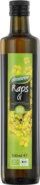 BIO olje repično hladno stiskano deviško DEN 0,5l