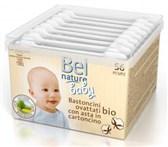 BIO vatirane palčke za dojenčke Bel Nature 56kom