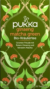 BIO čaj Ginseng Matcha Green Pukka 20 vrečk