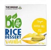 BIO desert rižev z vanilijo The Bridge 4x110g