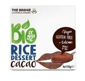 BIO desert rižev s čokolado The Bridge 4x110 g