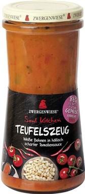BIO fižolova pekoča jed Teufelszeug Soul Kitchen 420ml