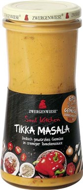BIO zelenjava v Tikka Masala omaki Soul Kitchen 420ml