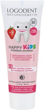 Otroška zobna pasta jagoda Logodent 50ml
