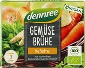 BIO jušne zelenjavne kocke brez kvasa dennree 6x10g