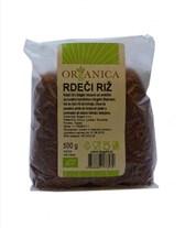 BIO rdeči riž Organica 500g