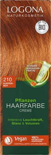 BIO barva za lase Logona bakreno rdeča 150ml