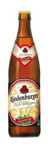 BIO pšenično brezalkoholno pivo Riedenburger 0,5l