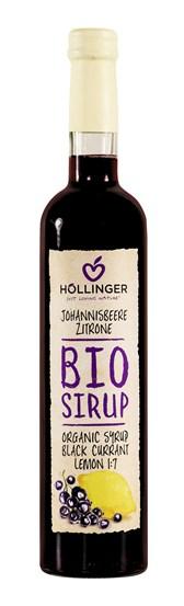 Sirup črni ribez in limona Höllinger 0,5l