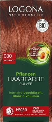 BIO barva za lase v prahu naravno rdeča Logona 100g