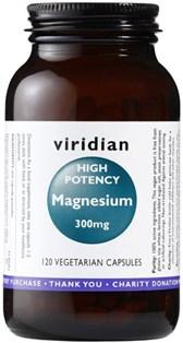 Magnezij aktiven Viridian 120 kapsul