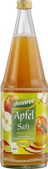 BIO jabolčni sok naravno motni DEN 1l