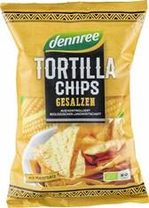 BIO čips koruzni tortilja soljen DEN 125g