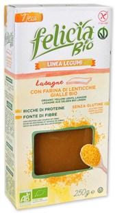 Testenine iz rumene leče (za lazanjo) brez glutena Felicia 250g