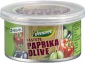 BIO pašteta s papriko in olivami DEN 125g