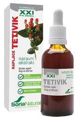 Ekstrakt tetivik XXI Soria Natural 50ml