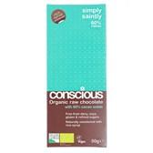 Čokolada presna 60% kakava Conscious 50g