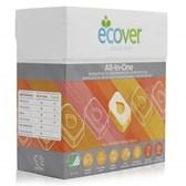 Tablete za strojno pomivanje posode 3v1 Ecover 25 kosov