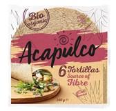 Pšenične tortilje s pšeničnimi otrobi Acapulco 6kom 240g